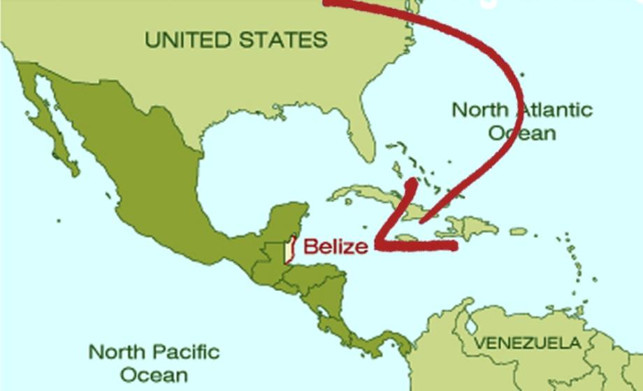 Aqua Vista Beachfront Suiteswhere Is Belize Located